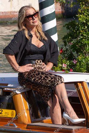 Editorial photo of Italy Venice Film Festival 2021 Arrival - 10 Sep 2021