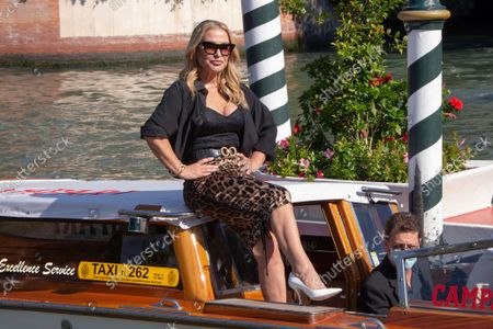 Editorial image of Italy Venice Film Festival 2021 Arrival - 10 Sep 2021