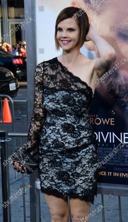 """Stock Image of Actress Kiersten Warren attends the premiere of the motion picture war drama """"The Water Diviner"""" at TCL Chinese Theatre in the Hollywood section of Los Angeles on April 16, 2015. Storyline: After the Battle of Gallipoli, in 1915, an Australian farmer, Connor (Russell Crowe), travels to Turkey to find his 3 missing sons. While staying at a hotel in Istanbul, he meets Ayshe (Olga Kurylenko), the hotel manager, and tries to find a way to Gallipoli."""