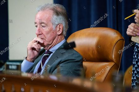 House Ways and Means Committee Chairman Richard Neal, D-Mass., listens as his panel meets for a markup hearing to craft the Democrats' Build Back Better Act, massive legislation that is a cornerstone of President Joe Biden's domestic agenda, at the Capitol in Washington