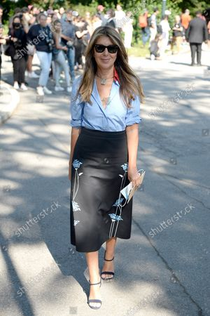 Editorial picture of Michael Kors, Arrivals, Spring Summer 2022, New York Fashion Week, USA - 10 Sep 2021