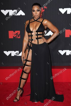 Editorial photo of MTV Video Music Awards, Arrivals, New York, USA - 12 Sep 2021