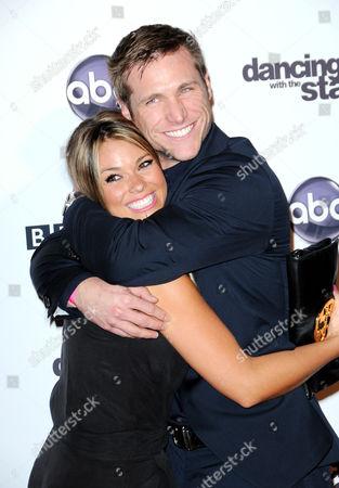 Stock Image of Jake Pavelka and girlfriend Meghan Jones