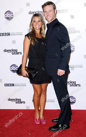 Stock Picture of Jake Pavelka and girlfriend Meghan Jones