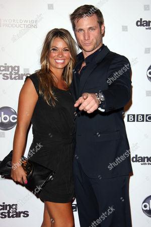 Stock Photo of Jake Pavelka and girlfriend Meghan Jones