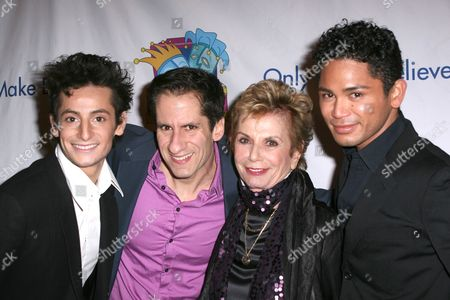 Frankie Grande, Seth Rudetsky, Dena Hammerstein, Isaac Calpito