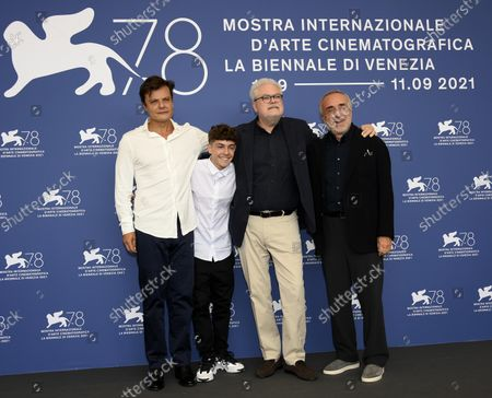 Editorial image of Il Bambino nascosto - Photocall - 78th Venice Film Festival, Italy - 11 Sep 2021