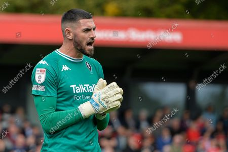 Stock Image of Tom King during the EFL Sky Bet League 2 match between Salford City and Bradford City at the Peninsula Stadium, Salford