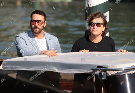 Stock Picture of Jeremy Piven and Emile Hirsh