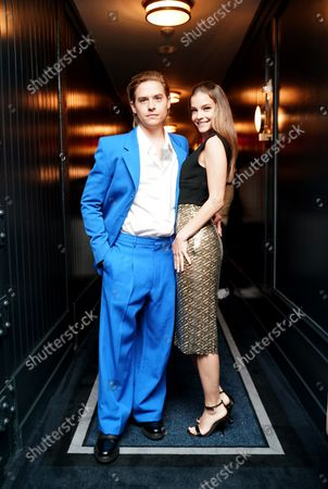 Stock Picture of Dylan Sprouse and Barbara Palvin