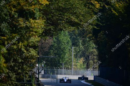 Mick Schumacher of Uralkali Haas F1 Team drive his VF-21 single-seater during free practice 2 of Italian GP, 14th round of Formula 1 World Championship in Autodromo Internazionale di Monza, in Monza, Lombardia, Italy, 11 September 2021