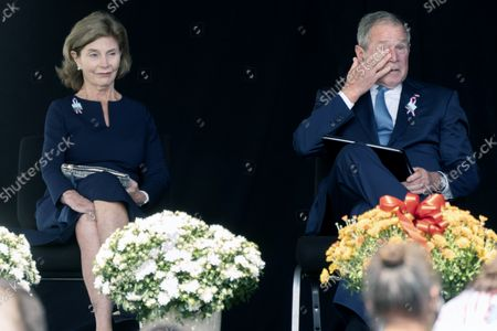 Editorial photo of Sept 11 Bush, Shanksville, United States - 11 Sep 2021