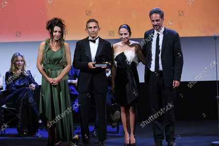 Editorial picture of Closing Ceremony, 78th Venice International Film Festival, Italy - 11 Sep 2021