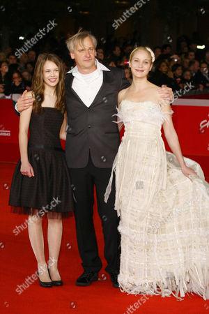 Paula Beer, Chris Kraus and Jeanette Main