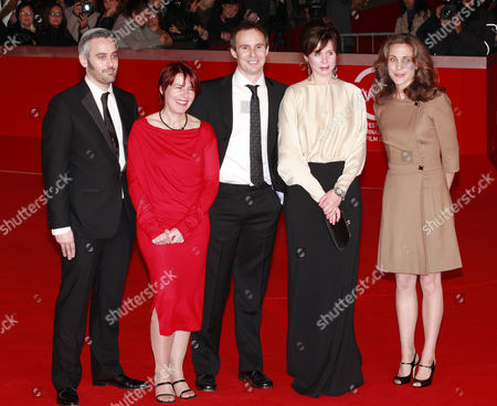 Emily Watson, director Jim Loach and cast