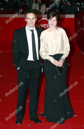 Director Jim Loach and Emily Watson