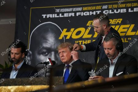 Editorial photo of Trump Boxing, Hollywood, United States - 11 Sep 2021