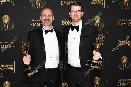 Editorial picture of 2021 Creative Arts Emmy Awards - Media Center - Night One, Los Angeles, United States - 11 Sep 2021