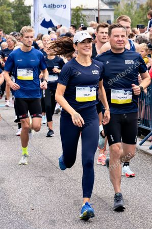 Editorial picture of Crown Princess Mary runs 5 km during the Royal Run in Aalborg, Denmark - 12 Sep 2021