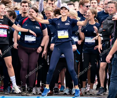 Editorial photo of Crown Princess Mary runs 5 km during the Royal Run in Aalborg, Denmark - 12 Sep 2021
