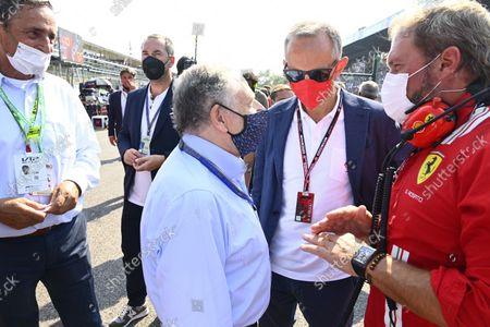 Editorial picture of 2021 F1 Italian Grand Prix, Race, Autodromo Nazionale Monza, Monza, Italy - 12 Sep 2021