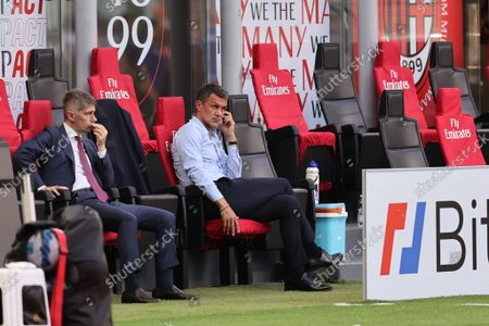Paolo Maldini Technical Area Director of AC Milan
