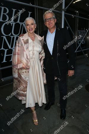 Stock Photo of Maye Musk and Mark Bozek