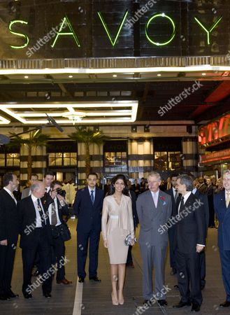Editorial picture of Prince Charles reopens the Savoy Hotel, London, Britain - 02 Nov 2010