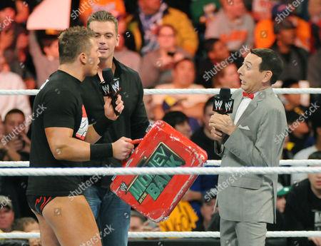 Editorial image of Pee Wee Herman appears on WWE Raw, Nassau, New York, America - 01 Nov 2010