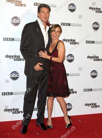 David Hasselhoff and Trista Rehn