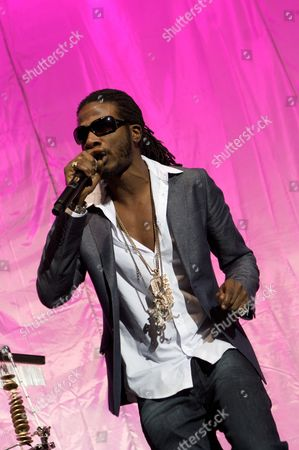Editorial photo of Gyptian in concert at the O2 Arena, London, Britain- 02 Nov 2010