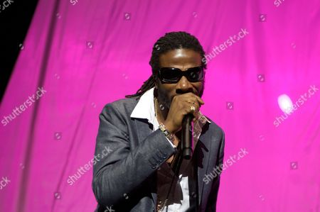 Editorial picture of Gyptian in concert at the O2 Arena, London, Britain- 02 Nov 2010