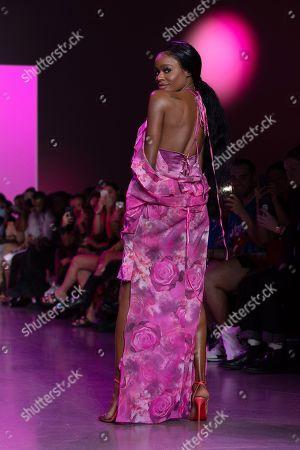 Azealia Banks on the catwalk