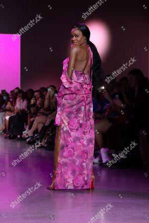 Stock Photo of Azealia Banks on the catwalk