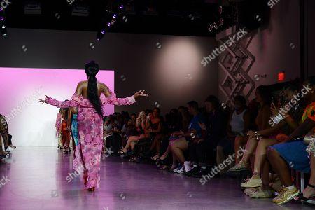 Editorial image of Kim Shui show, Runway, Spring Summer 2022, New York Fashion Week, USA - 12 Sep 2021