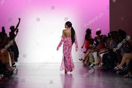 Editorial picture of Kim Shui show, Runway, Spring Summer 2022, New York Fashion Week, USA - 12 Sep 2021