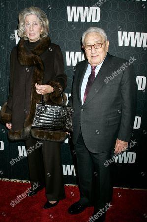 Nancy Kissinger and Henry Kissinger