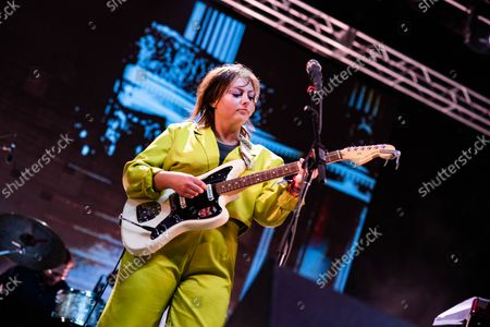Angel Olsen closes out the Red Stage at Pitchfork 2021 Day 2 in Chicago Illinois.