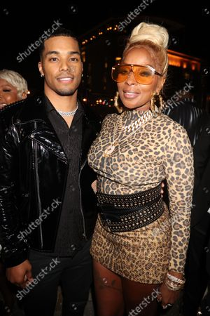 Stock Picture of Rome Flynn and Mary J Blige