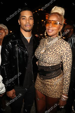 Rome Flynn and Mary J Blige
