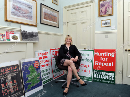 Editorial picture of Alice Barnard, Chief Executive of the Countryside Alliance Foundation at their offices in the Old Town Hall in London, Britain - 06 Oct 2010