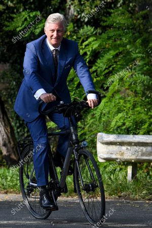 King Philippe visit to UCLouvain