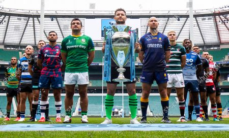 Editorial photo of Gallagher Premiership Season Launch,  Rugby Union, Twickenham Stadium, London, UK - 09 Sep 2021