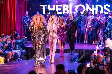 Editorial photo of NY: The Blonds SS22 fashion show, New York, United States - 12 Sep 2021