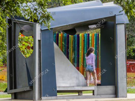 Editorial photo of Frieze Sculpture Park in Regents Park, Regents Park, London - 13 Sep 2021