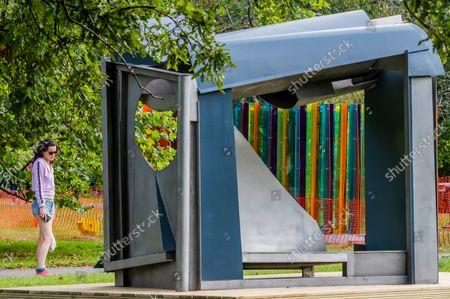 Editorial picture of Frieze Sculpture Park in Regents Park, Regents Park, London - 13 Sep 2021
