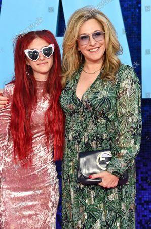 Tracy-Ann Oberman and daughter Anoushka Cowan