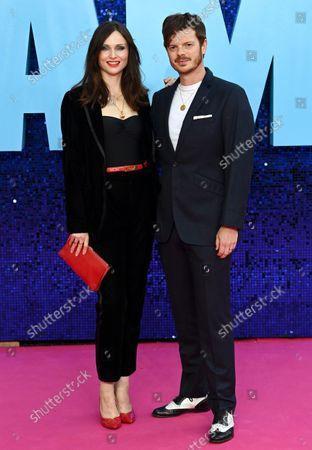 Stock Image of Sophie Ellis Bextor and husband Richard Jones