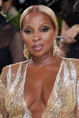 Stock Picture of Mary J. Blige