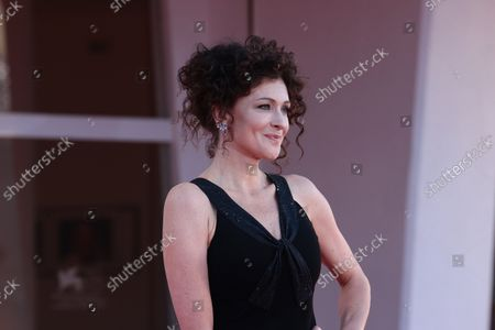 Stock Picture of Kseniya Rappoport attend the red carpet of the movie 'America Latina' during the 78th Venice International Film Festival on September 09, 2021 in Venice, Italy.